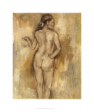 Nude Figure Study II Limited Edition by Jennifer Goldberger