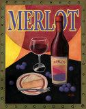 Merlot Poster by T. C. Chiu