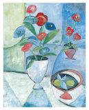 Andres Flowers II Poster by Maria Andari