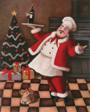 Christmas Chef II Prints by T. C. Chiu