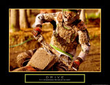 Motocross Poster par Jerry Angelica