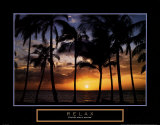 Relax: Palm Trees Posters by Craig Tuttle