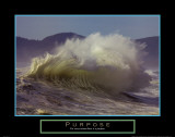 Purpose: Wave Affiches par Craig Tuttle