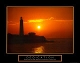 Dedication - Lighthouse Pósters