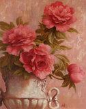 Pink Roses Kunst von T. C. Chiu