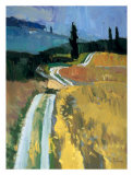 Tuscan Field I Print by Peter Fiore