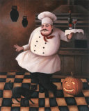 Halloween Chef II Prints by T. C. Chiu