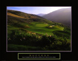 Success: Golf Course in Hills Prints