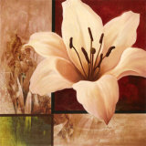 Lily Collage Prints by T. C. Chiu