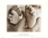 Values: Mother and Child Prints by Laura Monahan