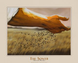 The Sower Print by Garret Walker