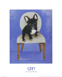 French Bull Dog Prints by Carol Dillon