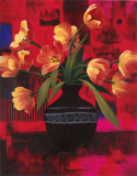 Potted Floral II Posters by T. C. Chiu