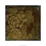 Damask Silhouette I Premium Giclee Print by Jennifer Goldberger