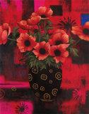 Potted Floral I Poster von T. C. Chiu