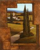 Tuscan Villa II Poster by T. C. Chiu