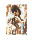 Keith, Ombre Poster di Gered Mankowitz