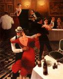 Tango II Posters af T. C. Chiu