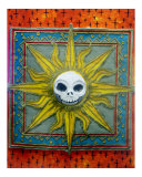 Day of the Dead: Skully Sun Giclee Print by Terra Laurant