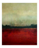 Quite Red Tint Giclee Print by Cristi B.