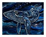 Humpback Whale Giclee Print by Leone Ardo
