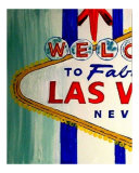 Welcome To Las Vegas 16 Giclee Print by Teo Alfonso