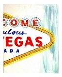 Welcome To Las Vegas 18 Giclee Print by Teo Alfonso