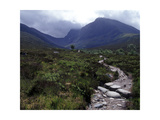 Path to the North Face of Ben Nevis, Scotland Photographic Print by AdventureArt