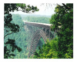 Bridge across Cumberland Gap in Kentucky Photographic Print by Dot Beverage