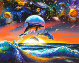 Dolphin Universe Posters
