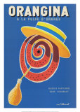 Orangina Art by Bernard Villemot