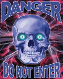 Danger Skull (Do Not Enter) Photo