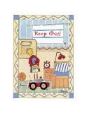 Rooms, Keep Out Prints by Marta Arnau