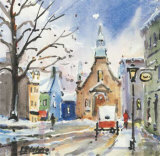 Eglise Bonsecour Prints by Jean-rock Labrie