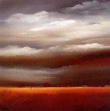 Evening Walk II Art by Hans Paus
