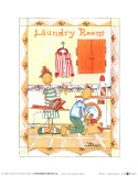 Rooms, Laundry Room Prints by Marta Arnau