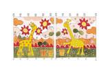Giraffes II Prints by Marta Arnau