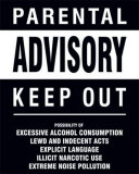 Parental Advisory Posters