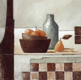 Still Life in Grey I Print by Franz Heigl