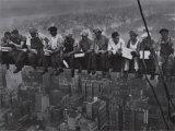 Déjeuner en haut d'un gratte-ciel, 1932 Affiches