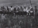Lunch Atop a Skyscraper, c.1932 (detail) Photo