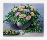 Flowers and Apples I Kunstdrucke von Karin Valk