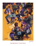 Primeros Violines Poster by  Bautista