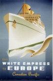 White Empress Poster