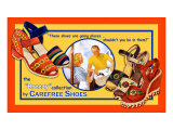 Carefree Shoes Lámina giclée por Kate Ward Thacker