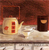 Scented Tea Prints by J.l. Vittel