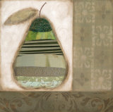 Bartlett Pear Art by Carol Robinson