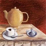 Lover Cappuccino Poster von J.l. Vittel