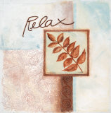 Relax Prints by Maria Woods