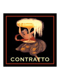 Vintage Contratto Giclee Print by Kate Ward Thacker